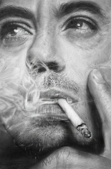 Robert Downey Jr por Nat-Morley